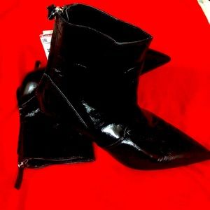 New leather  Zara ankle boots